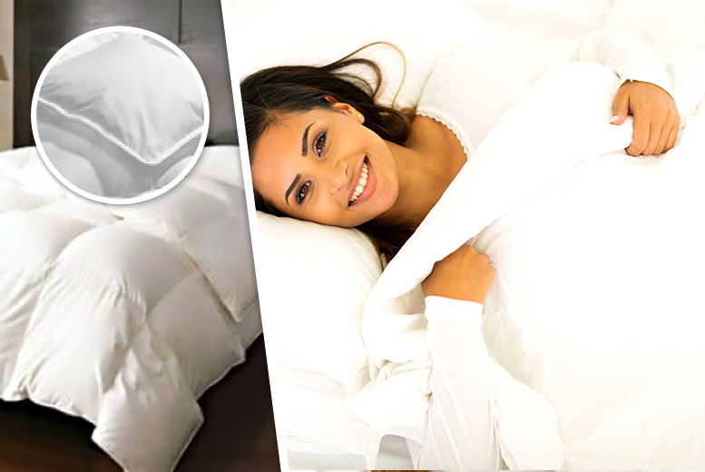 From £19.99 instead of £79.99 (from Groundlevel) for a 13.5 tog duck feather and down winter duvet, or from £22.99 for a goose feather and down duvet - save up to 75%