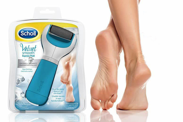 £20 instead of £39.99 (from Glamour Shop UK) for an ergonomic Scholl Diamond pedi roller including four AA batteries - save 50%