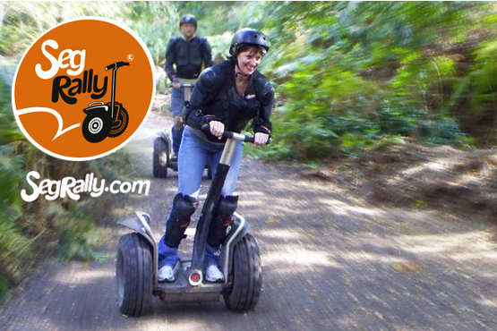From £17 for a Segway rally experience for one person, or from £30 for two people at one of 9 locations, with Seg Rally - save up to 58%