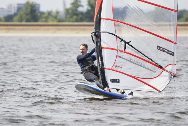 £29 instead of £80 for 2-hour windsurfing or dinghy sailing tuition with Datchet Watersports, Berkshire - save 64%