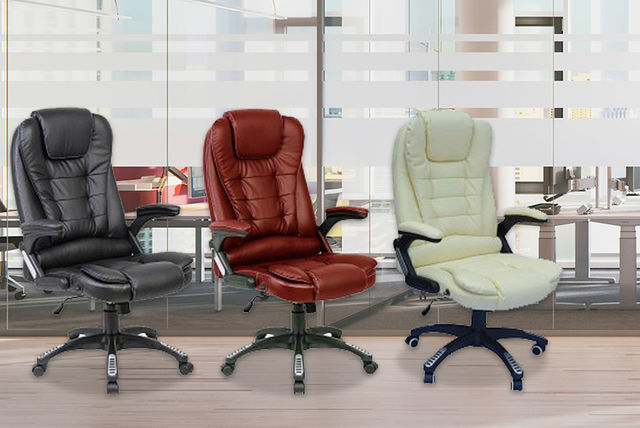 reclining swivel office chair