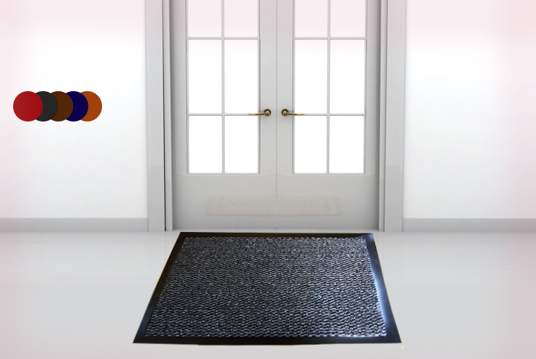 £4.99 instead of £37 (from Groundlevel) for a \'Dirt Grabber\' non-slip doormat, £7.99 for two - choose from five colours and save up to 88%