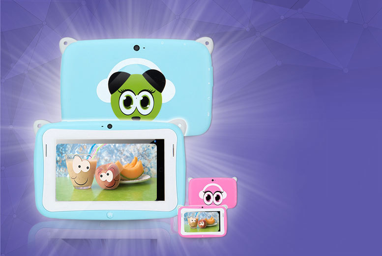 """Kids 4.3"""" Android Panda Tablet"""