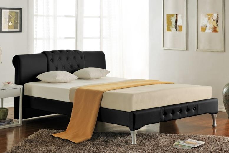 Knightsbridge Designer Swan Bed