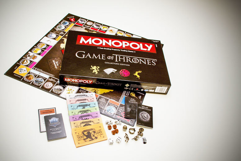 £24.99 instead of £45 (from Linen Ideas) for a Game of Thrones Collector's Edition Monopoly game -  save 44%