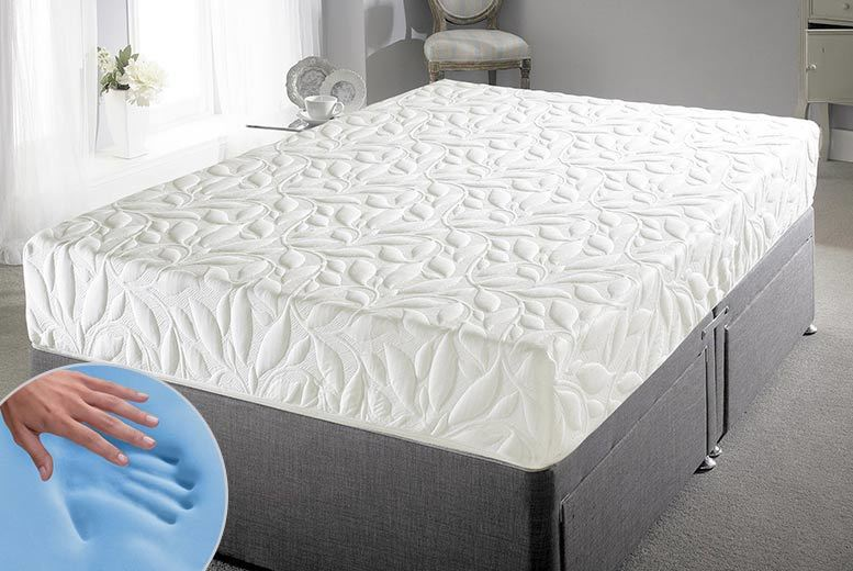£139 (from Cheap Mattresses) for a single GelFlex memory foam mattress, £179 for a small double or double, £189 for a king, £199 for a super king - save up to 72%
