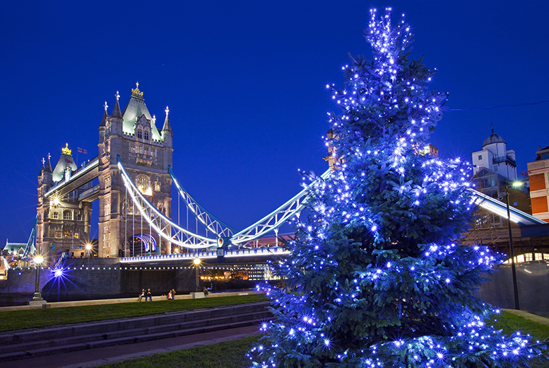 From £12 for a Christmas party boat cruise on the Thames with a bubbly reception, from £19 to include a buffet meal - save up to 40%