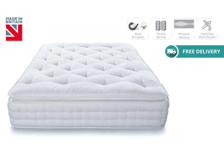 Alpinia 3000 Pocket Pillow Top Mattress