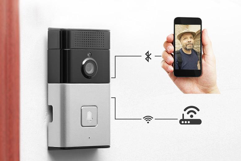 Wireless Bluetooth Smart Video Doorbell from £69
