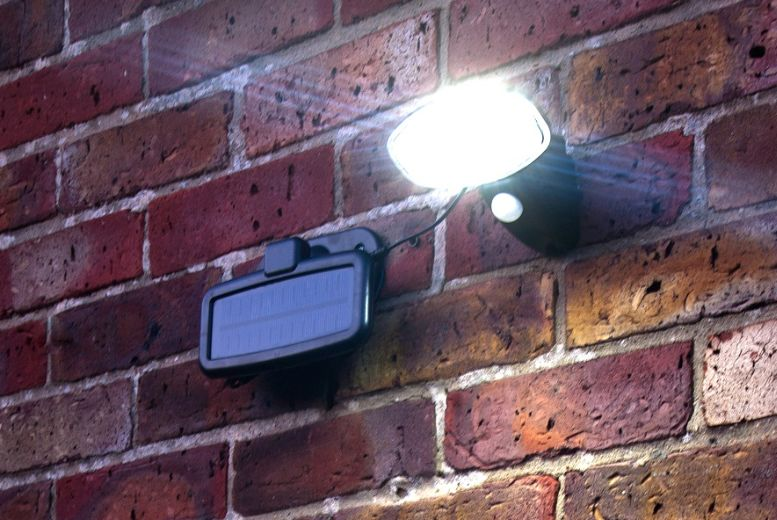£10.99 instead of £34.95 for a Motion Detecting Solar Security Light from Gift Mountain - save up to 69%