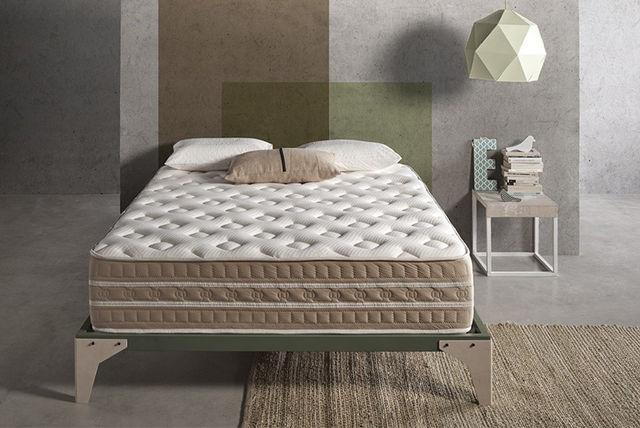 bio thermal 3d zone memory foam mattress
