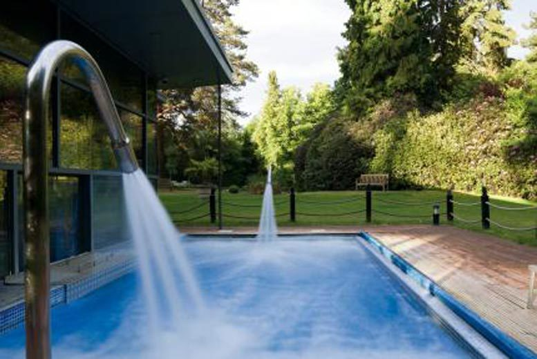 Surrey: 4* Macdonald Hotel Spa Day, Treatments & Afternoon Tea for 2 from £119