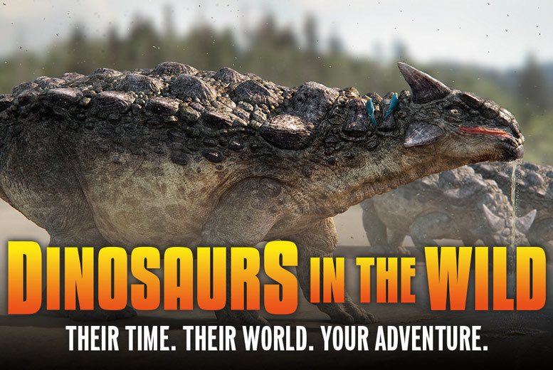 Birmingham: Dinosaurs in the Wild Exhibition Tkts @ NEC Birmingham from £18