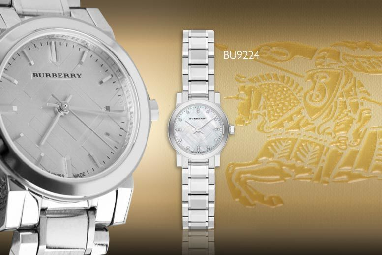£169 instead of £599 (from Gray Kingdom) for a ladies\' luxury Burberry watch - choose from three gorgeous styles and save 72%