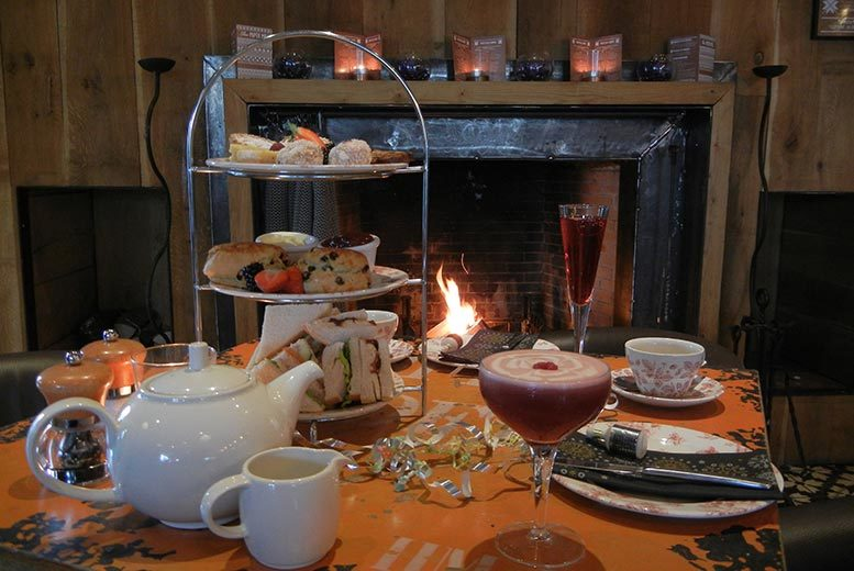 Festive Afternoon Tea for 2 @ The Paper Mill