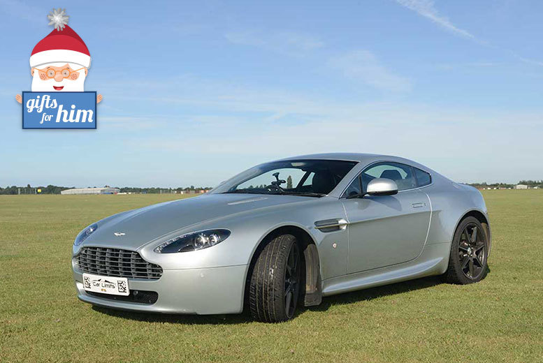 £39 for a three-lap James Bond Aston Martin experience during the week, or £49 during the weekend at a choice of four venues with Supercar Test Drives - save up to 78%