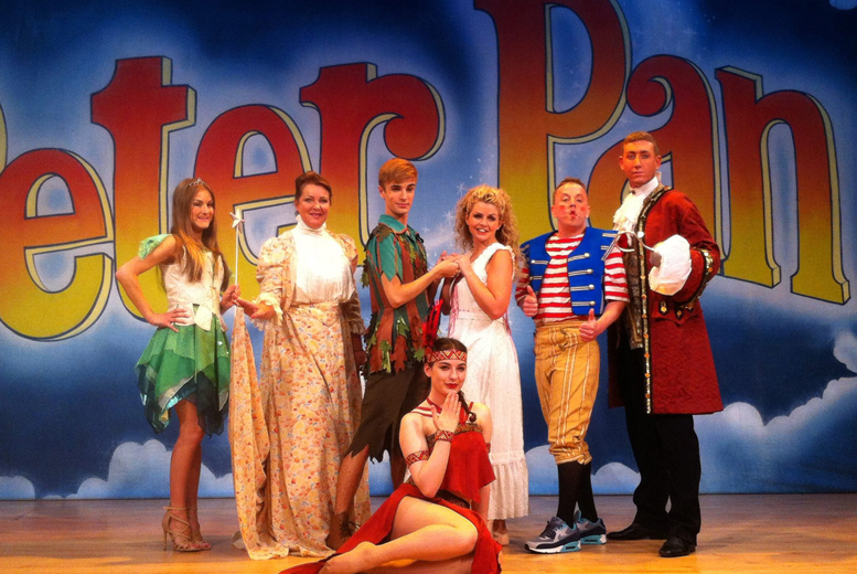£7 instead of £14.95 for one adult or child pantomime ticket to see Peter Pan at the The Grange Theatre, Hartford - save 53%