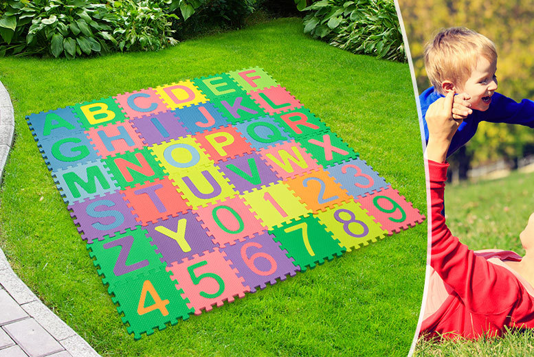 £6.99 instead of £29.99 (from Planet of Accessories) for a 36-piece soft foam puzzle play mat - save 77%
