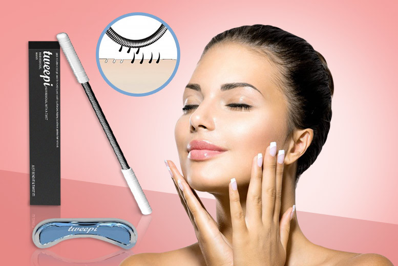 £4.99 instead of £29.99 (from Forever Cosmetics) for a Tweepi hair removal wand and cooling gel pack - save 83%