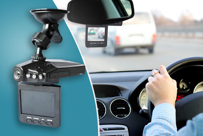 £14.99 instead of £99.99 for an in-car accident camera - save 85%
