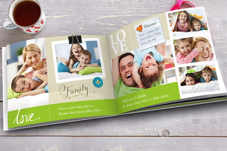 £2 instead of £12.99 (from Truprint) for a soft cover personalised 7\