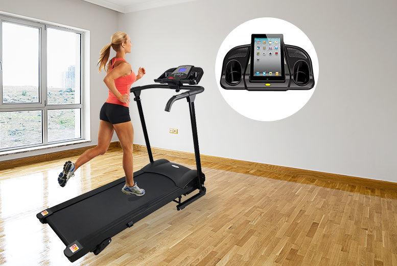 1100W Motorised Folding Treadmill from £189