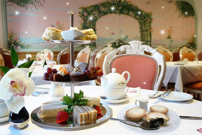 £19 instead of up to £68 for a festive afternoon tea for two at the London Elizabeth Hotel, Lancaster Gate, £24 to include bubbly or mulled wine - save up to 72%