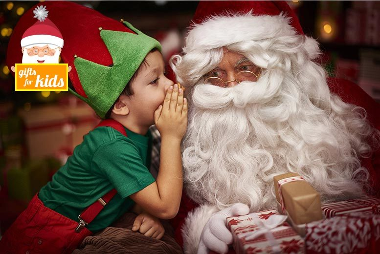 £12 for a Winter Wonderfarm experience for an adult and child at Lower Drayton Farm, Penkridge - visit Santa's grotto and the elves' workshop and save 54%