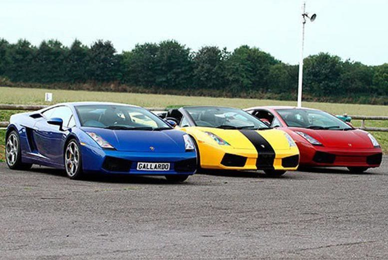 London: Lamborghini Driving Experience – 9 Locations! from £39