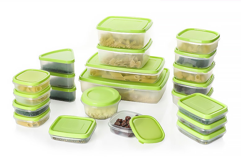 44pc Plastic Microwaveable Food Storage Set from £9.99