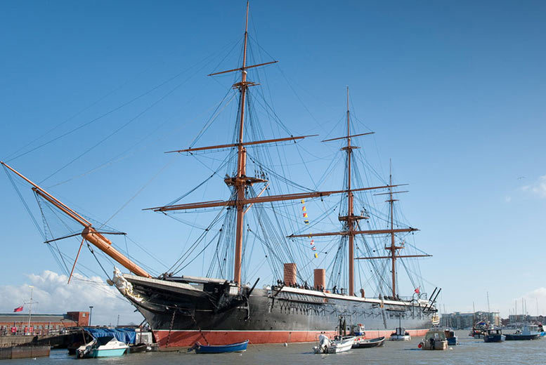 London: Portsmouth Historic Dockyard – Annual All-Attraction Tickets! from £8.25