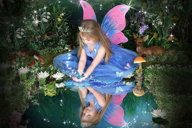 Kent: 'Frozen' or Magical Fairy & Elf Photoshoot from £9