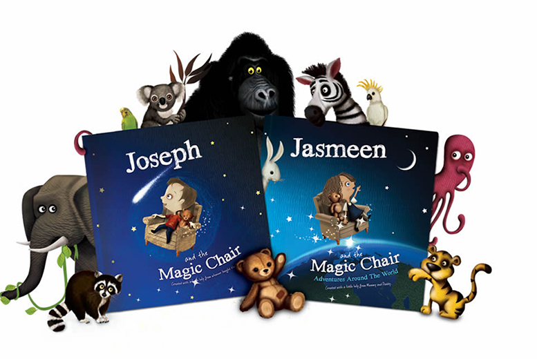 £7 instead of £14.99 (from Magic Chair) for a personalised children's 'Magic Chair' book - put your child in the story and save 53%