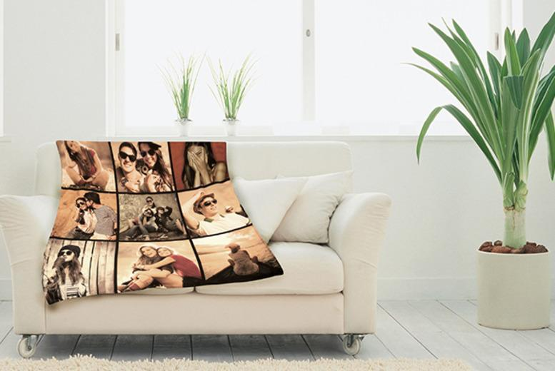 £14.99 (from Great Photo Gifts) for a small photo blanket, £18.99 for a square blanket or £21.99 for a medium - save up to 50%
