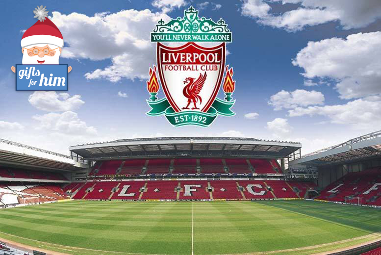 £34 for a Liverpool FC Centenary Stand Tour and The Liverpool Story Museum including the Steven Gerrard Collection for two people from Buyagift!