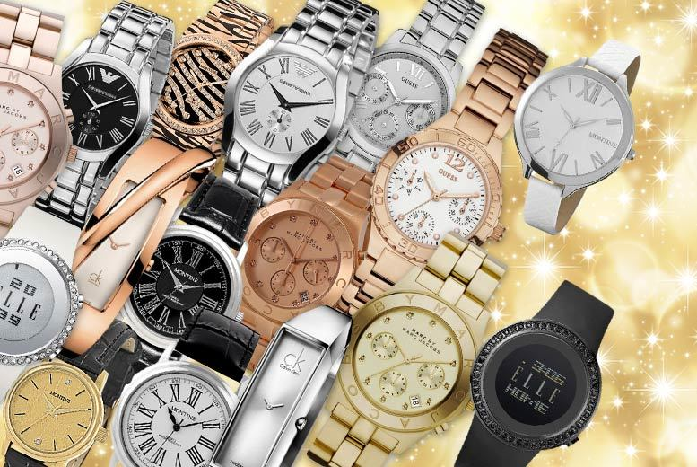 £10 for a Wowcher Women's Mystery Watch - products include Calvin Klein, Marc Jacobs, Elle, Guess, Emporio Armani, Jacques du Manoir, Avalanche, Montine and more!