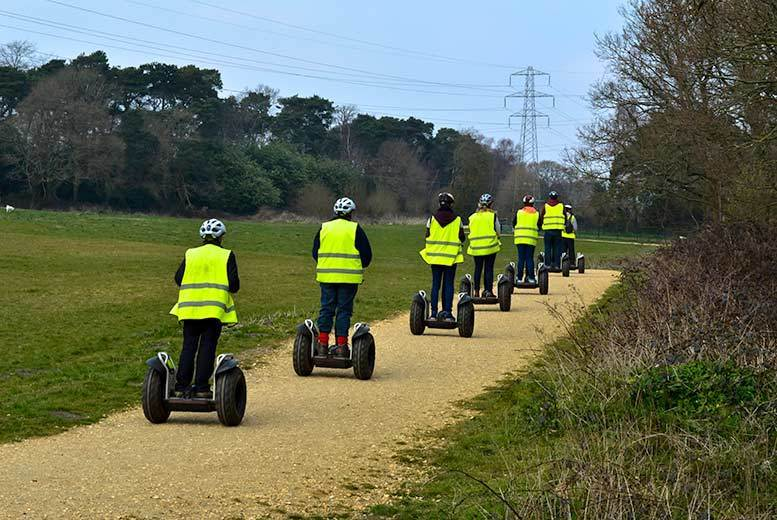 Bournemouth: 1hr Segway Ride & Tour @ Upton Country Park from £19
