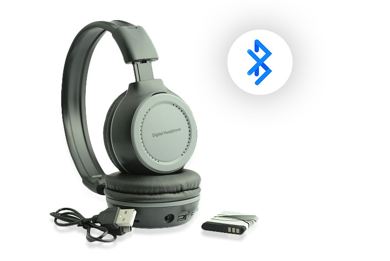 Bluetooth Wireless Stereo Headphones from £9.99