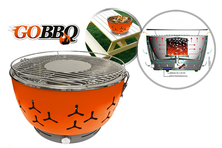 Go BBQ Portable Fan Grill from £49