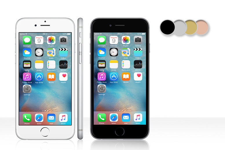 £10 instead of £39.99 (from Buymobiles.net) for an iPhone 6s 64GB when you sign up to a 24-month contract - save 75% - DELIVERY INCLUDED!