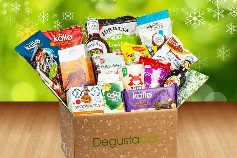 £4.99 instead of £11 (from Degustabox) for a one-month food hamper - try something new and save 55%