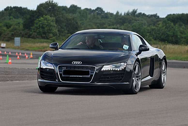 London: Audi R8 Thrill Driving Experience – 13 Locations! for £69