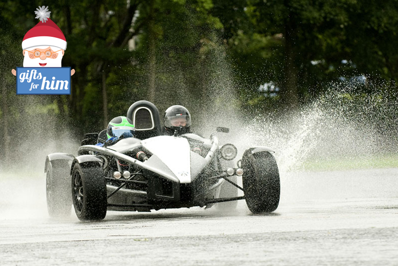 £39 instead of £99 for an Ariel Atom driving experience with Driving Gift, York - satisfy your need for speed and save 61%