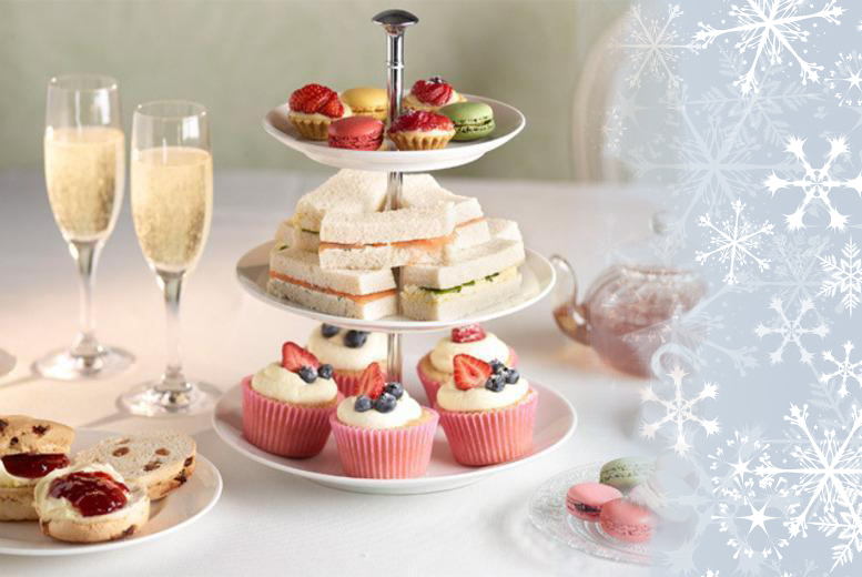 £25 instead of £50 for a festive afternoon tea for two with Prosecco at the Ramada Hotel, Sutton Coldfield- save 50%