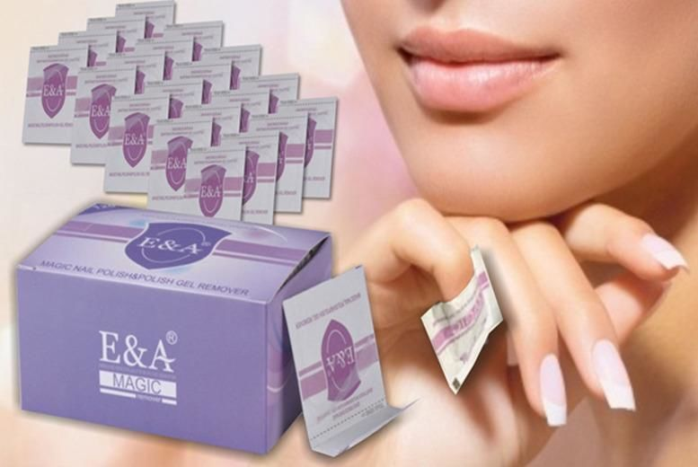 Gel Nail Polish Removal Wraps – 1 or 2 Packs! from £5