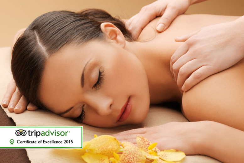 £24 for a 75-minute Thai spa experience for one including a massage, foot scrub and hot towel treatment, £47 for two at Siam Spa Centre, Manchester - save up to 52%