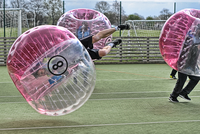 From £159 (from Xtreme Soccer) for a one-hour zorb football session for up to 15 players at a choice of 54 UK locations - save up to 68%