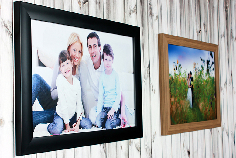 £9.99 instead of £69.95 (from Your Perfect Canvas) for an A2 luxury framed print - save a picture-perfect 86%