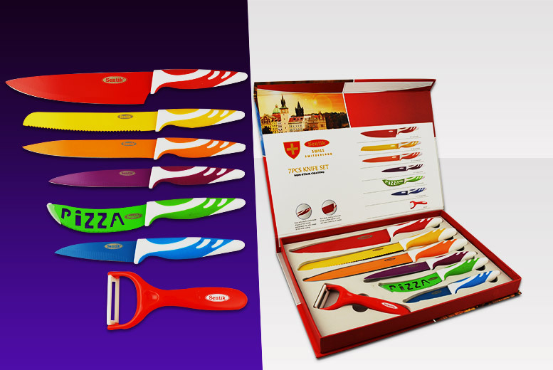£8.99 instead of £49.99 (from Zoozio) for a seven-piece multi-coloured kitchen culinary set - save 82%