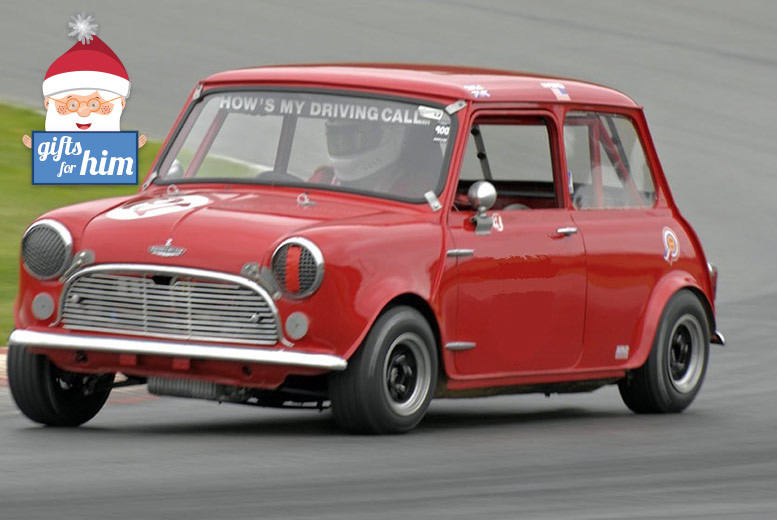 £64 for a classic mini thrill driving experience at Heyford Park, Oxford, from Activity Superstore - save £35